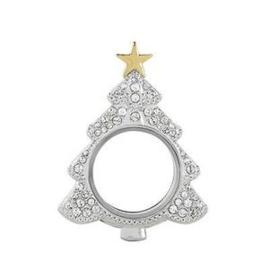 Authentic Origami Owl Christmas Locket Chain Combo